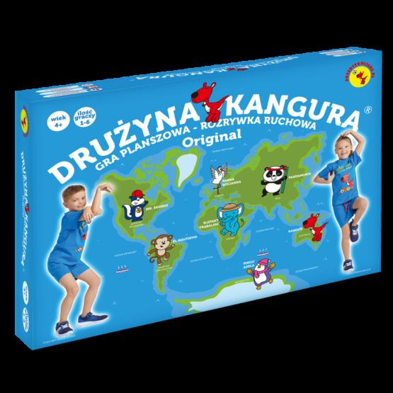 Drużyna Kangura® Original. Gra planszowa – Rozrywka ruchowa.